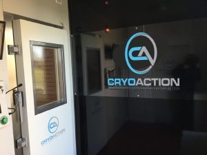 CryoAction Cryotherapy rental unit