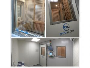 CryoAction fixed cryotherapy chamber