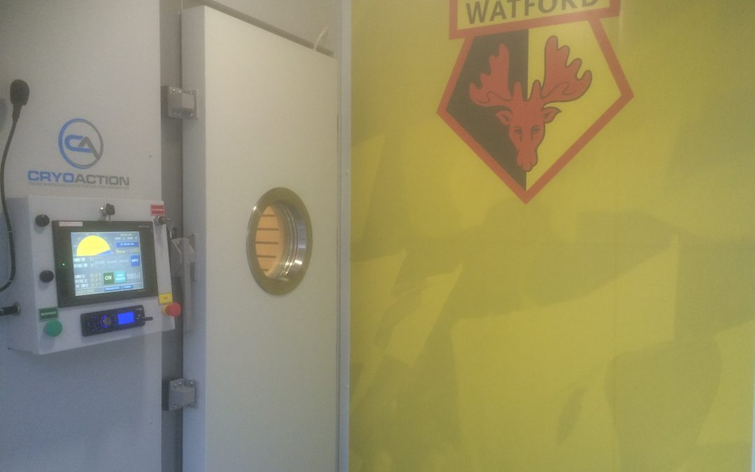 Watford FC Unveils -135°C cryotherapy Recovery Treatment