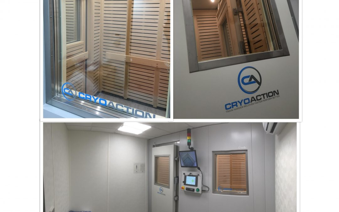 AFC Bournemouth installs CryoAction whole body cryotherapy chamber into training centre