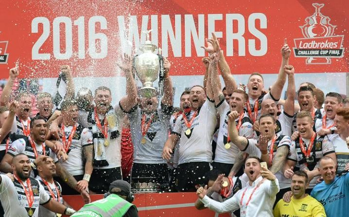 CryoAction client Hull FC lifts Rugby League's Challenge Cup