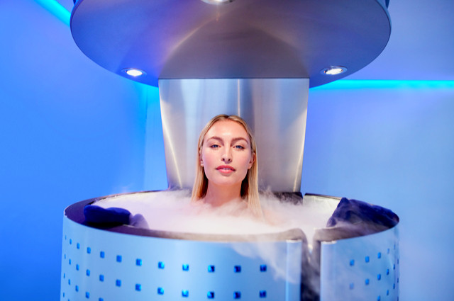 Cryotherapy immune system image by Jacob Lund (via Shutterstock).