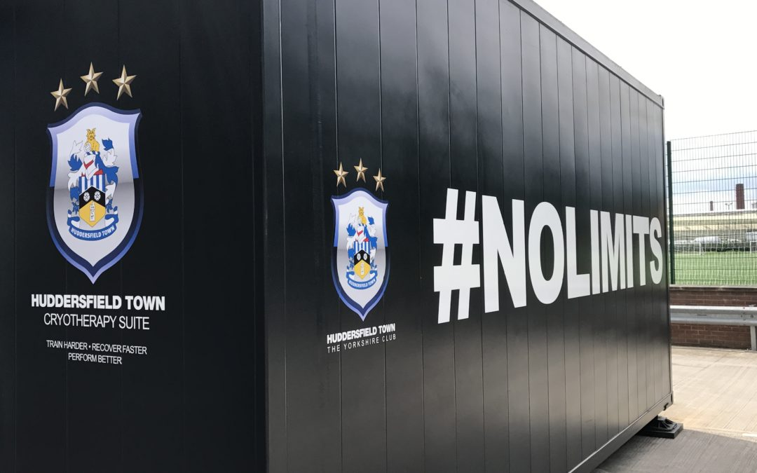 CryoAction Cryotherapy helps Huddersfield Town prepare for upcoming Premier League season.