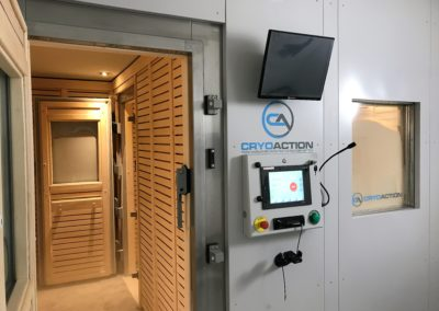 Arsenal FC Cryotherapy Chamber