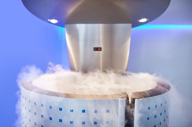 history of cryotherapy