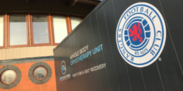CryoAction Provide Rangers with Cryotherapy Unit