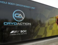 Watford FC Cryotherapy unit
