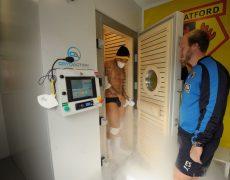 Watford FC Cryotherapy chamber