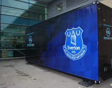 Everton FC Cryotherapy chamber