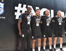 Huddersfield Town players