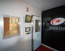 Saracens cryotherapy chamber
