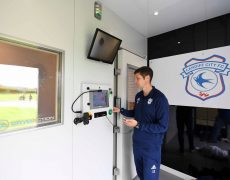 cryo therapy Cardiff City FC