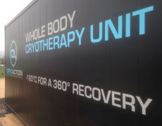 whole body cryotherapy unit