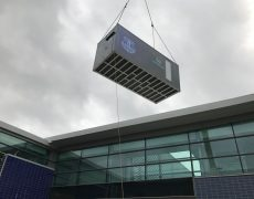 cryotherapy chamber installation