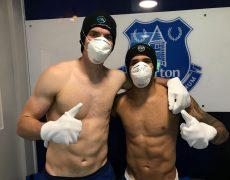 Everton FC players