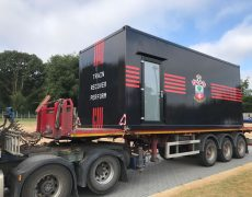 Southampton FC Cryotherapy installation