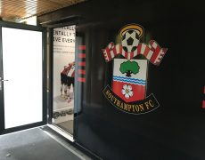 Southampton FC Cryotherapy chamber
