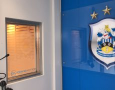 Huddersfield Town cryotherapy