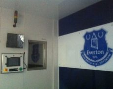 Everton FC cryotherapy