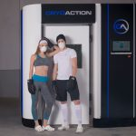 CryoAction cryotherapy chamber